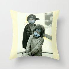Double Trouble Throw Pillow