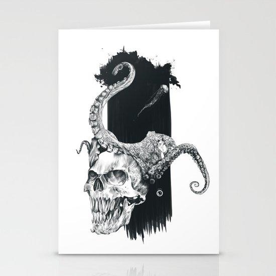 Deep Ocean Stationery Card