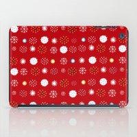 winter pattern4 iPad Case