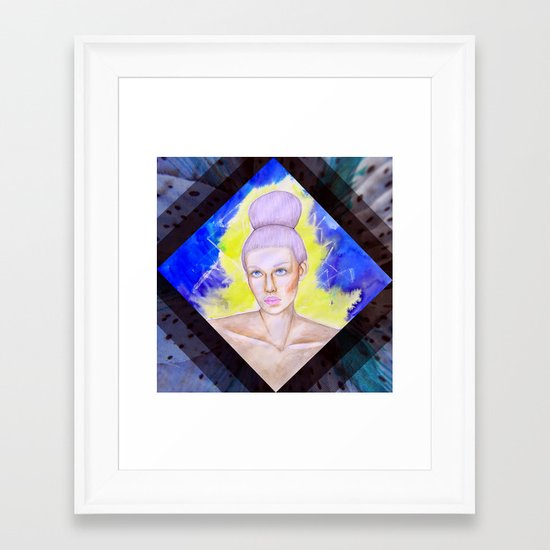 Uno Framed Art Print
