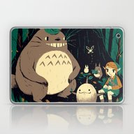 Spirits Of The Forest Laptop & iPad Skin