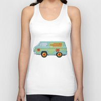 Mystery Machine - Scooby… Unisex Tank Top