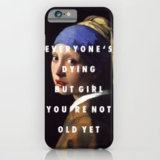 Step with a Pearl Earring iPhone 6s Slim Case