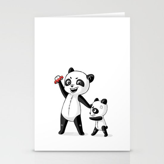 Panda Brothers Stationery Card
