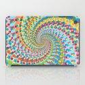Colour Mix Spiral iPad Case