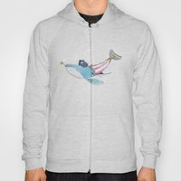 Pirate Whale Hoody