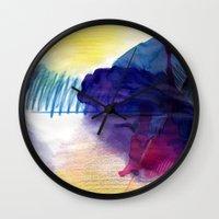 purpleone Wall Clock