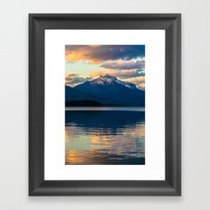Mountains Rise To Open Skies Framed Art Print