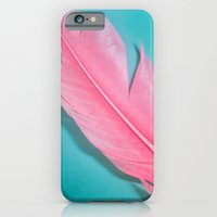 PINK FEATHER 2 iPhone 6 Slim Case