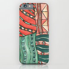 Patterned Piece #1 Slim Case iPhone 6s
