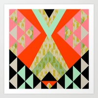 Arrow Quilt Art Print