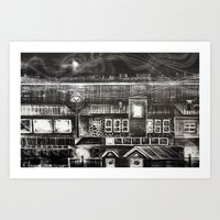 House Of Elements - Blac… Art Print