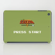 Zelda press start iPad Case