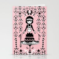 Lady Cake Stationery Cards