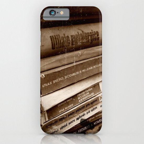 vintage books iPhone & iPod Case