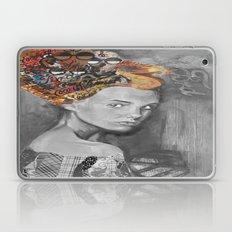 Dame black and white  Laptop & iPad Skin