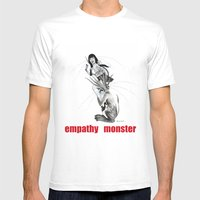 Empathy Monster Mens Fitted Tee White SMALL