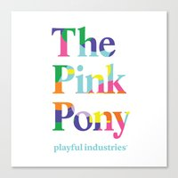 The Pink Pony Canvas Print