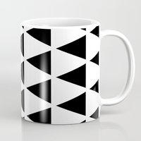 Sleyer Black On White Pa… Mug