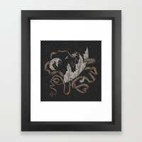 Night Falling  Framed Art Print