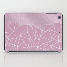 Ab Lines 45 Pink iPad Case