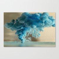 Kloudy Canvas Print