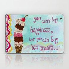 Ice Cream Happiness Laptop & iPad Skin