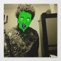 Zombie Person - 2  Canvas Print