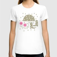 rain T-shirts featuring Rain by ottomanbrim