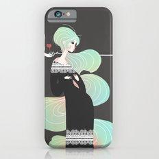 Love in Black iPhone 6s Slim Case