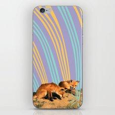 Foxes iPhone & iPod Skin