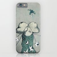 Origami's passion -  a collaboration between Christelle Guilhen and Gwenola de Muralt iPhone 6 Slim Case