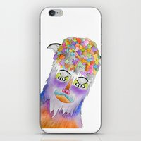 Psychic Bison Cat iPhone & iPod Skin