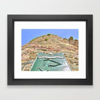 French Tower, Waterford City, Ireland Framed Art Print