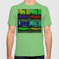 Eastern Germany Car - Trabant 601s Mens Fitted Tee Grass SMALL