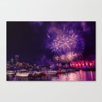Happy Birthday America -1  Canvas Print