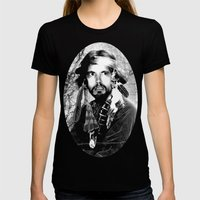 Jason Wing As Hania Spir… Womens Fitted Tee Black SMALL