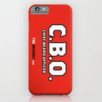 iPhone & iPod Case featuring CHEIF BEARD OFFICER  by The Beardly