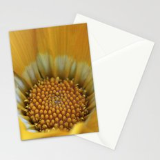 Yellow Gazania Macro Stationery Cards