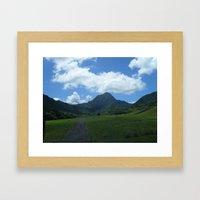 Hawaii 2 Framed Art Print