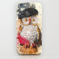 iPhone & iPod Case featuring Spain Owl by Msimioni