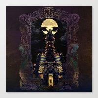 Magus Castle Canvas Print