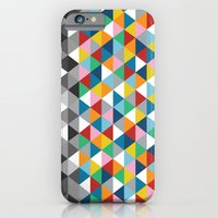 Triangles with Topper iPhone 6 Slim Case