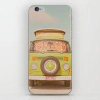 Let's Ride Through Europ… iPhone & iPod Skin