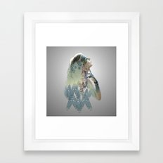 Deep In Thought Framed Art Print