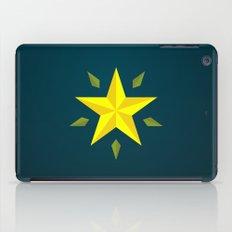 Gold Star/ Blue iPad Case