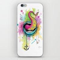 Cecilia iPhone & iPod Skin