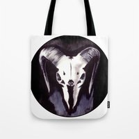 Cephalomancy Tote Bag
