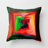 A maze ment Throw Pillow