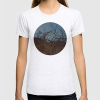 armor (back to unnatural) Womens Fitted Tee Ash Grey SMALL